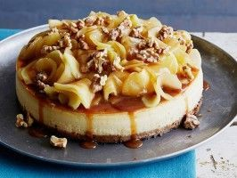 Caramel Apple Cheesecake : Recipes : Cooking Channel.