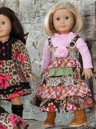 "Serendipity 18"" Doll Dress"