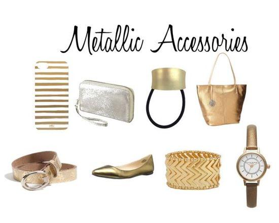 Fall 2013 Fashion Trend: Metallic Accessories