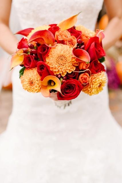My fall wedding bouquet