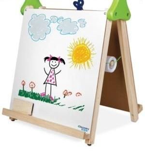 Discovery Kids Toy Wooden Tabletop Easel.jpg