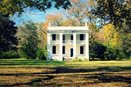 Old plantation house