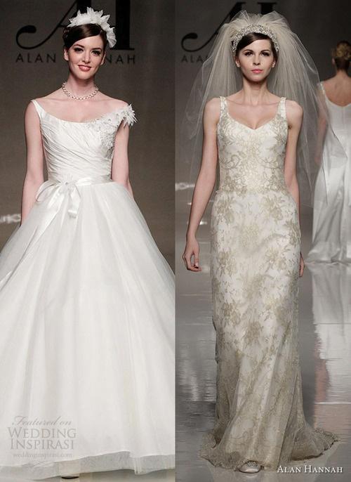 Alan Hannah 2013 Classic Beauty Bridal Collection.