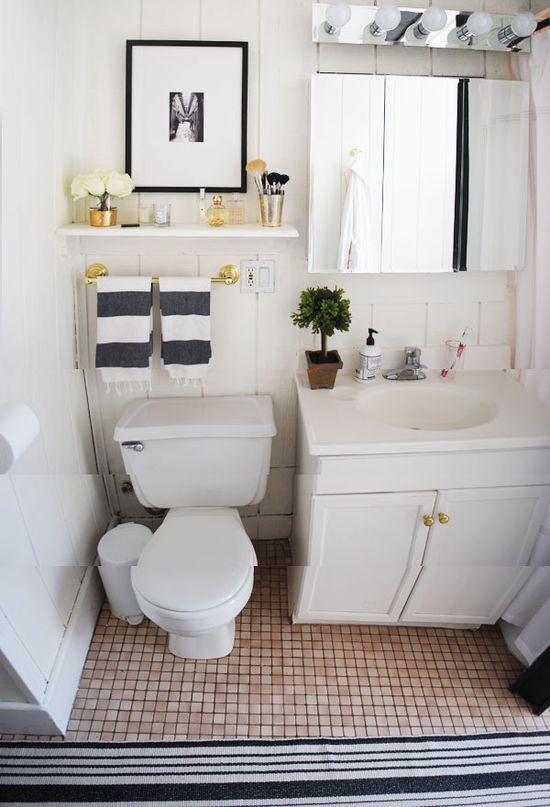 Live Creating Yourself.: Belle Home Tour: Bathroom Before and After