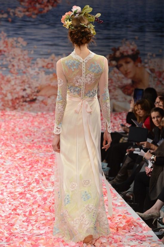 Claire Pettibone – Bridal Fall 2013