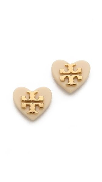 Love these studs: Tory Burch. Anything Tory Burch is absolutely perfect