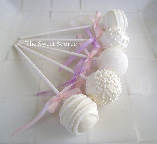 wedding cake pop favors - Google Search