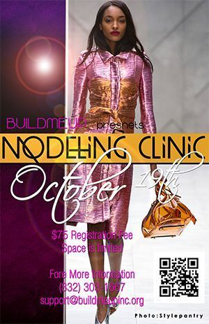 Modeling Clinic October 19th 2013  The Do's and Don'ts - For Ages pre-teens to 17 years.