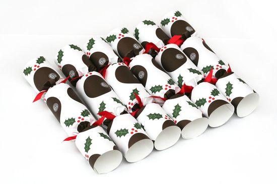 Luxury Christmas Pudding Crackers