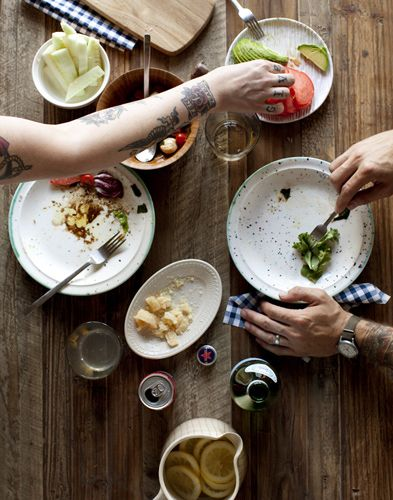 Food Style / Seth Smoot - love overhead shots of hands doing things...
