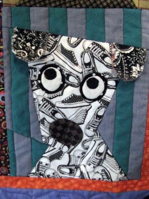 Liberating Dog Quilt @QuiltWorks