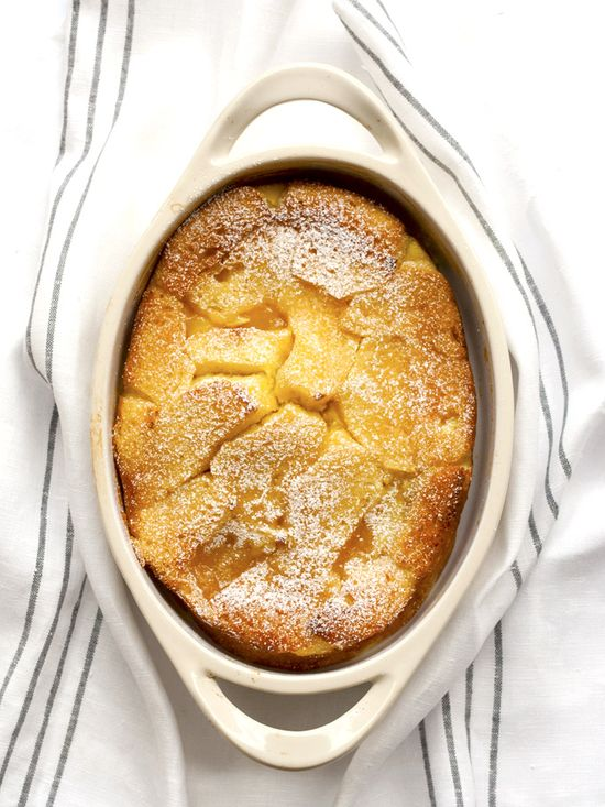Oh my...this is so delicious! Lemon Bread Pudding