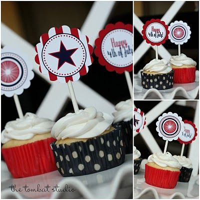 Printable 4th of July Party Collection ~ via @The TomKat Studio