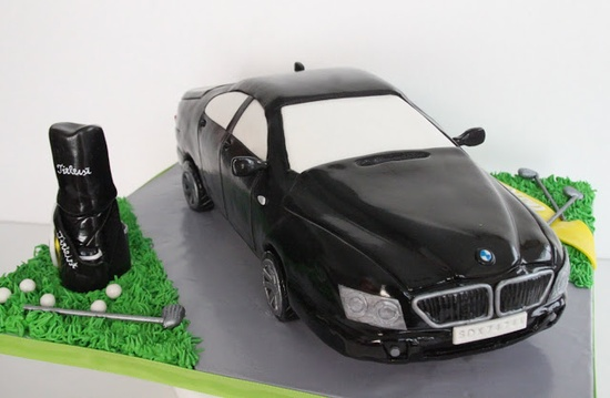 Celebrate with Cake!: Car Cake