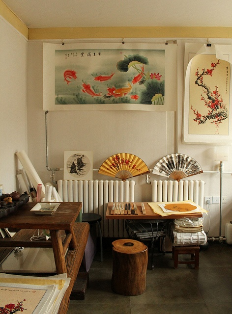 Inside of Artist's Studio - Beijing, China., via Flickr.