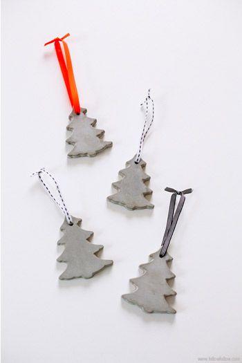DIY Cement Ornaments