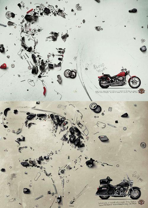 Harley Davidson Ads