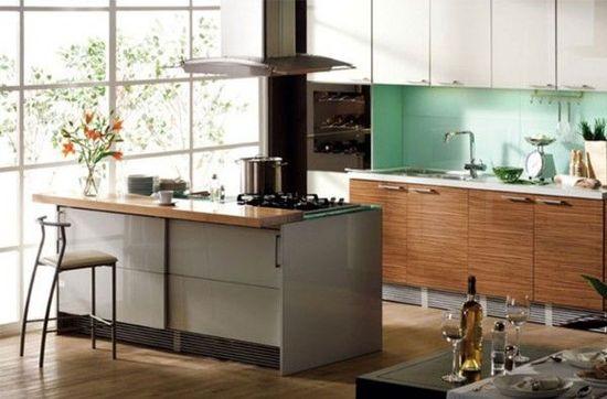 Modern kitchen ideas design picture - ideasforho.me/... -  #home decor #design #ideas #living room #bedroom #bathroom #kithcen