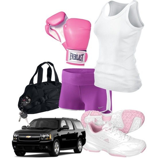 Physical Exercise 32 (Muay Thai), created by lifeofstar on Polyvore