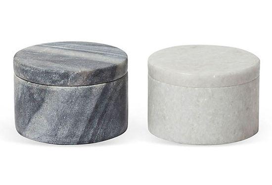 marble salt cellars