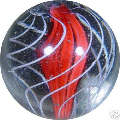 Ribbon-core, handmade marble