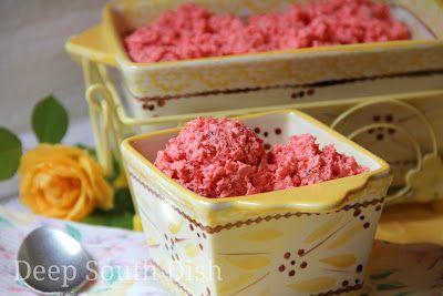 Pink Jello Salad