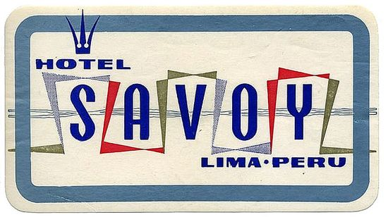 Art of the Luggage Label