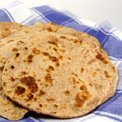 One Perfect Bite: Chapatis and Pooris: One Dough Two Breads