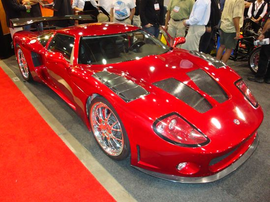 Factory Five GTM @ SEMA Show '08. Awesome American Supercar!