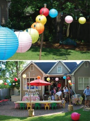carnival party  - lots of cute doable ideas