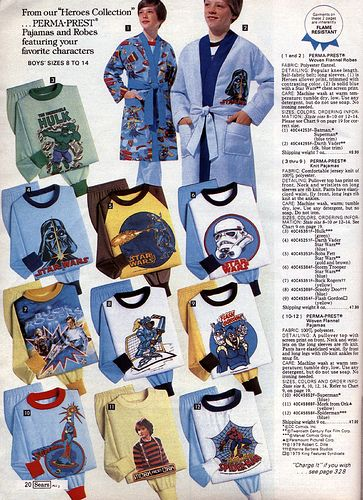 Star Wars Sleepwear 1979-xx-xx Sears Christmas Catalog P020
