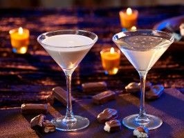 Milky Way Martini : Recipes : Cooking Channel