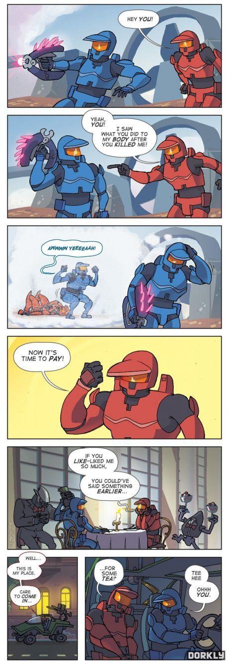 True Halo love