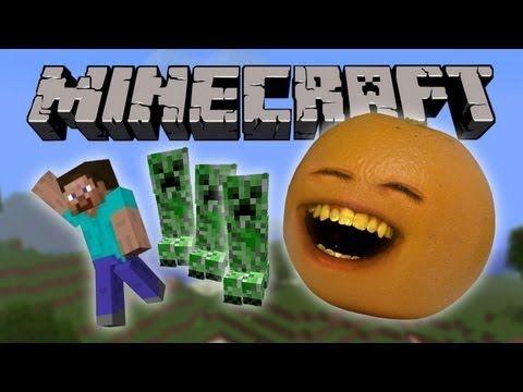 Annoying Orange Vs. Minecraft!