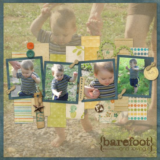 #papercraft #Scrapbook #layout scrapbooking