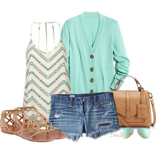 minty summer clothes