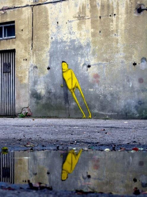 street art...just resting