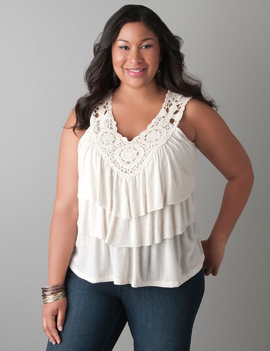 New Plus Size Tops,