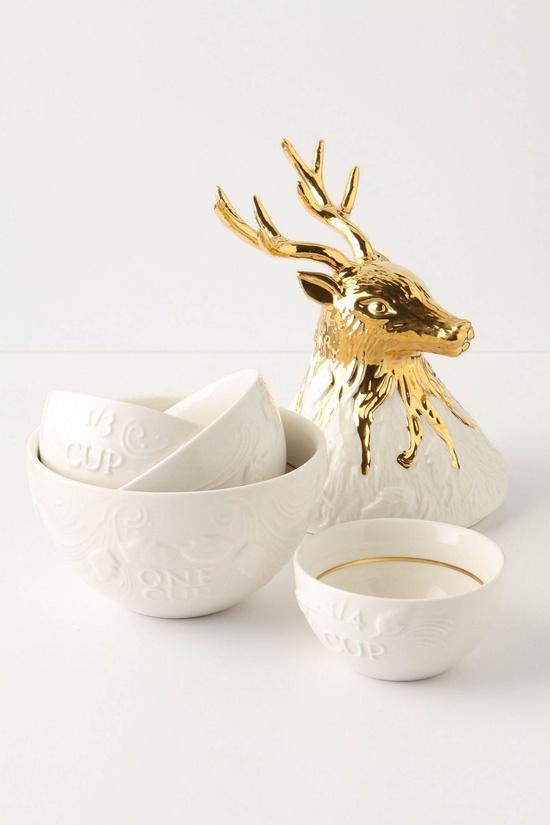 enchanted buck measuring cups  so beautiful