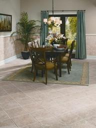 Earthy Ceramic Tile Floors