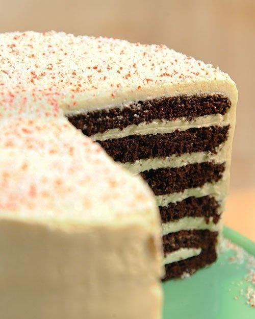 Chocolate-Peppermint Cake Recipe