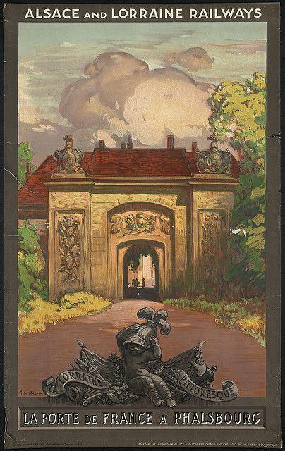 La Porte de France a Phalsbourg by Boston Public Library, via Flickr