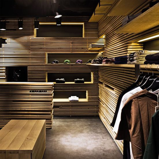Carhartt store by Francesc Rifé, Barcelona
