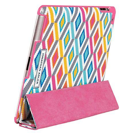 Jonathan Adler iPad Smart Cover Stepped Diamonds @Layla Grayce
