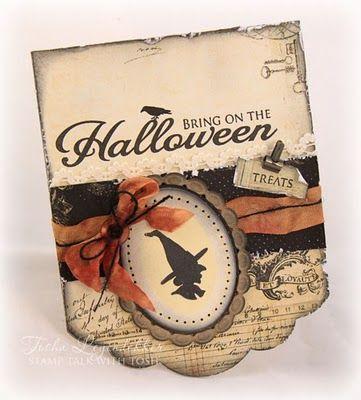Fine halloween card
