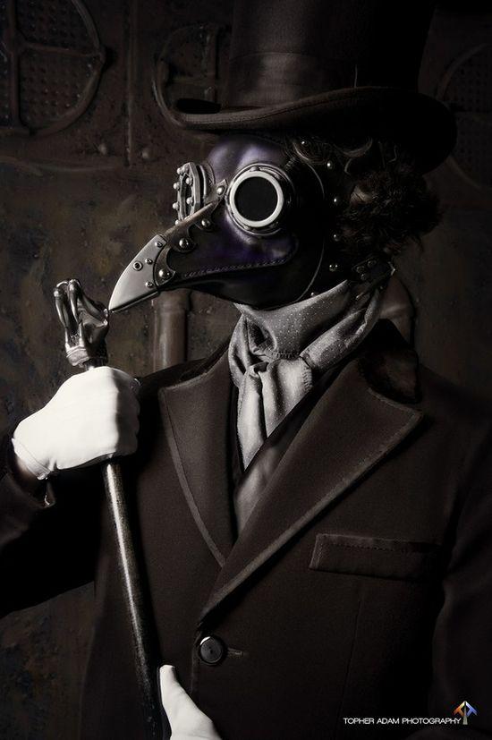 Steampunk Raven mask