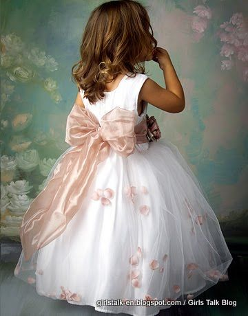 Cute flowergirl dress