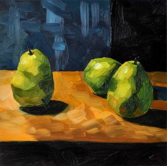 Still life oil painting - 6x6 $45