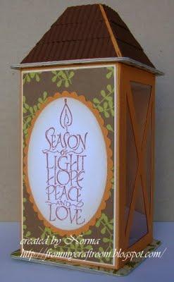 Tutorial - Lantern Gift Box