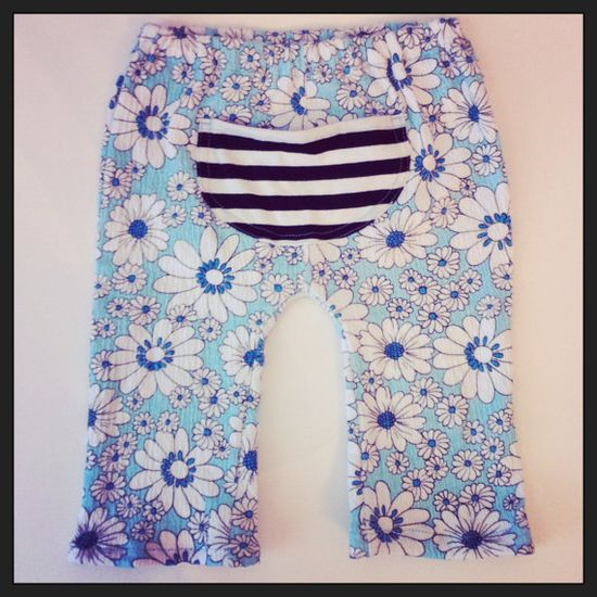 12/18  Months Baby Monkey Pants by RebelsandPebbles on Etsy, $28.00